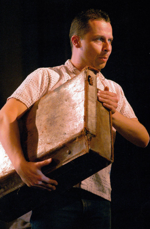 Timothy Dawkins, bass, as Colline in La boheme