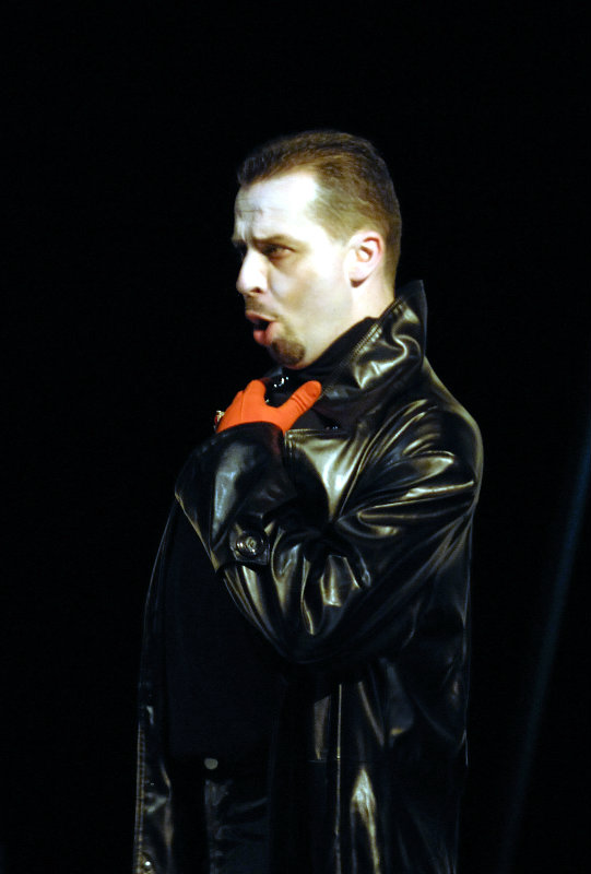 Timothy Dawkins, bass, as Mephistopheles in Gounod's Faust at The Festival Theatre, Edinburgh